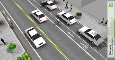 Conventional bike lane