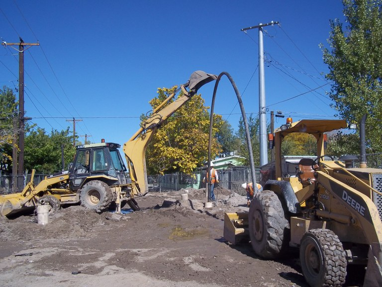 005 Dewatering pipes