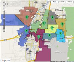Council Map Albuquerque Image