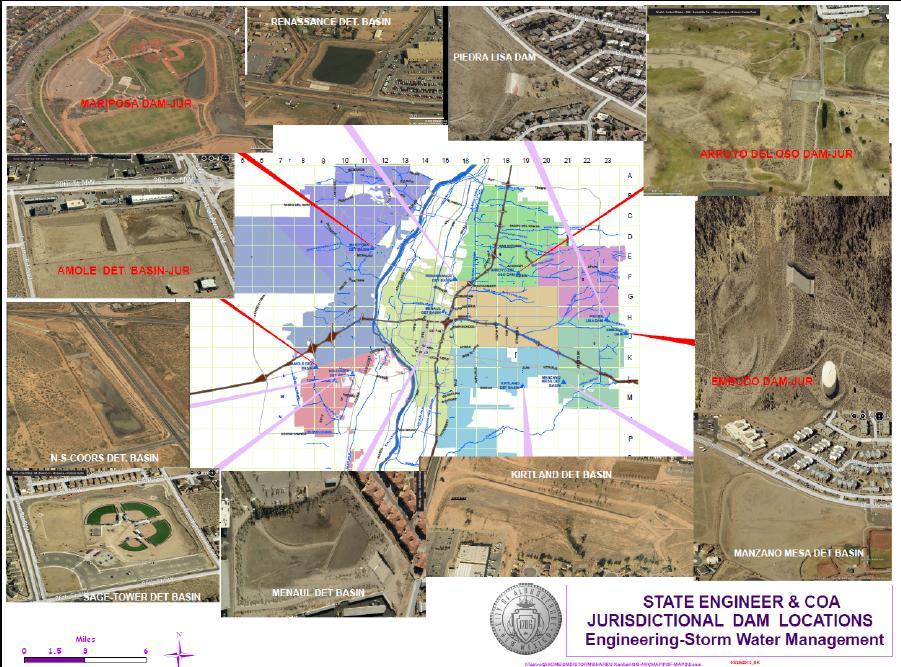Dam Locations