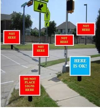 Garage Sale Sign Guide Image