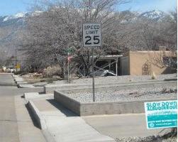 Neighborhood 15 MPH Sign Image