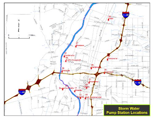 Pump Station Map - Large