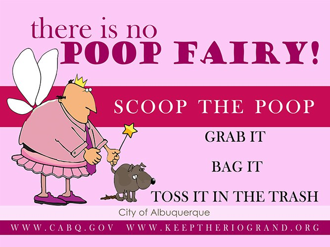 There is No Poop Fairy Campaign Image