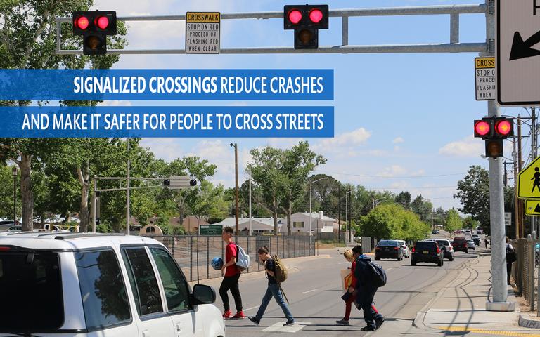 Vision Zero Children Crossing Street
