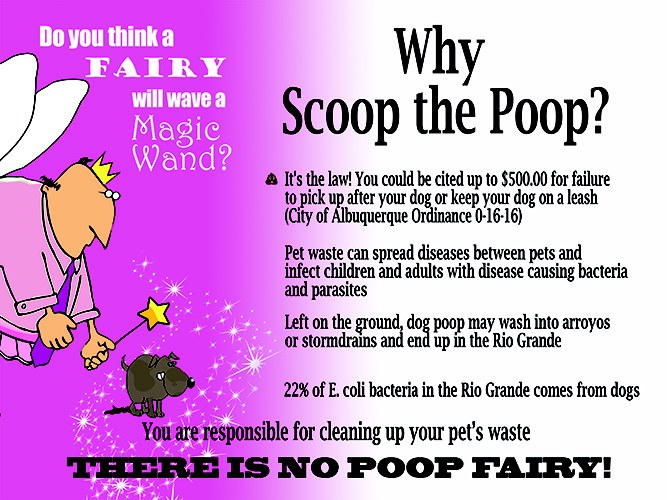 Info graphic for Why Scoop the Poop