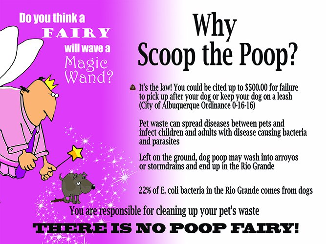 Why Scoop the Poop Info Graphic