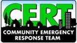 Community Emergency Response Team (CERT) Program educates people about disaster preparedness.