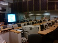 Interior of the Emergency Operations Center