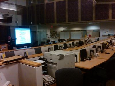 Emergency Operation Center Interior