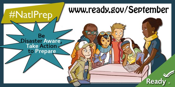 Be Disaster Aware, Take Action to Prepare