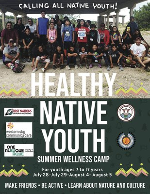 Healthy Native Youth Summer Wellness Series July 28 & 29
