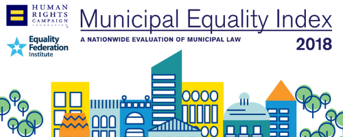 A jpeg of Municipal Equality Index 2018 tile.
