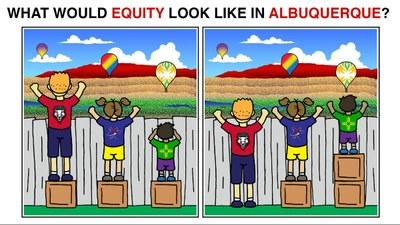 Image of Equity in Albuquerque.