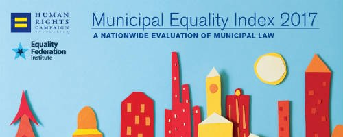 Image of Human Rights Campaign: Municipal Equality Index Scorecard - 2017 Cover.