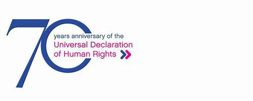 Image of the Human Rights Declaration.