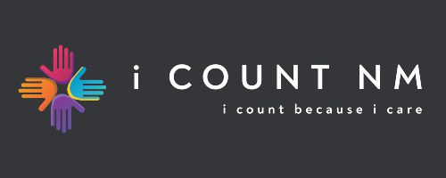 The i Count NM Logo