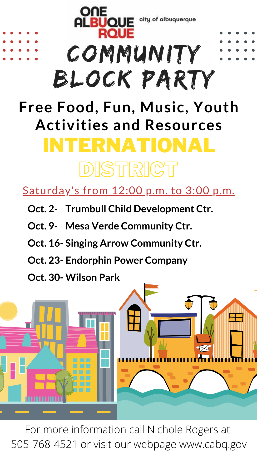 Community Block Party in the International District