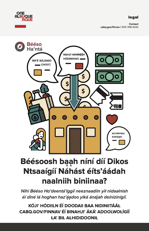 New Financial Navigators Poster - DINE