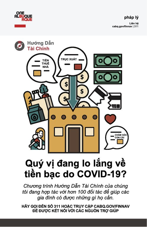 Financial Navigators poster in Vietnamese