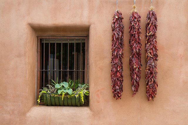 House with ristras