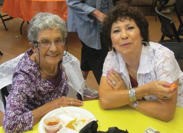 Two senior citizens.