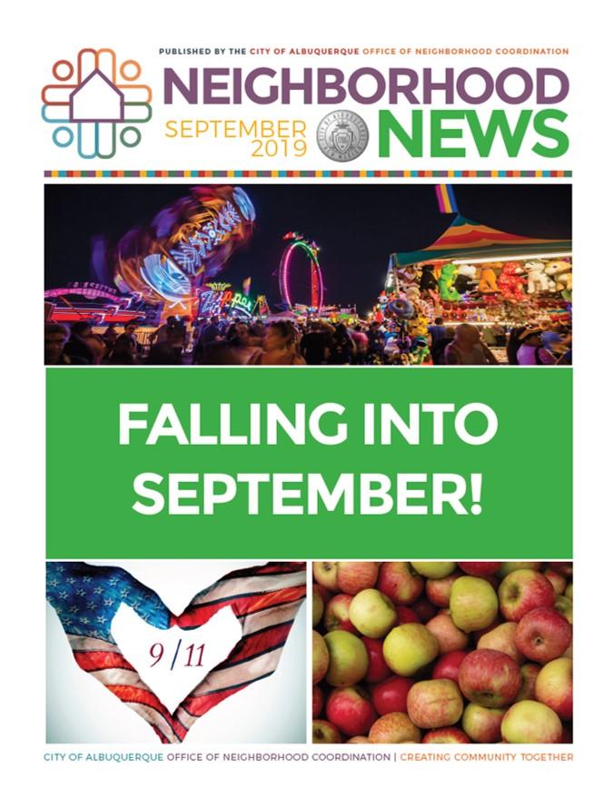 ONC Newsletter Cover: Sept. 2019