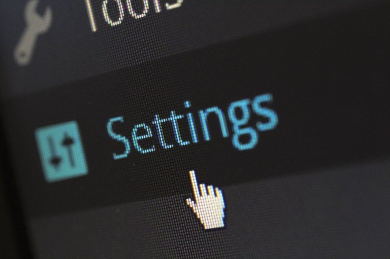 Web Page Setting