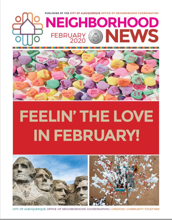 ONC Newsletter Cover February 2020