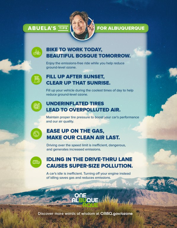 Abuela's Tips for Albuquerque Clean Air