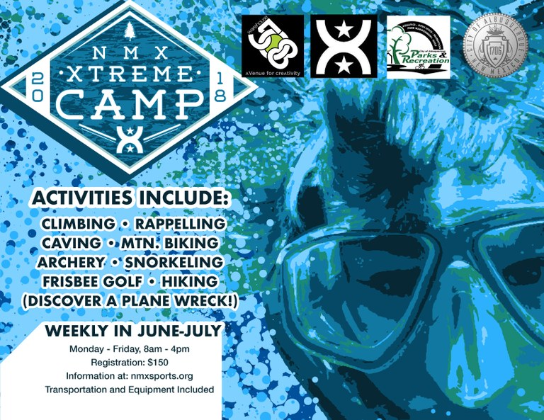 NM Extreme Camp Flyer 2018