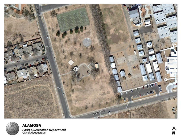 Alamosa Park Jumper Map