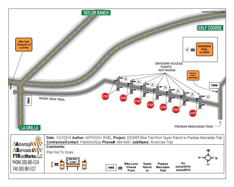 Riverview Trail Traffic Control Plan Pic