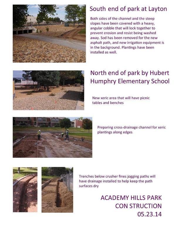 Academy Hills Construction Photo Sheet