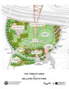 BFP Tribute Area Conceptual Site Plan