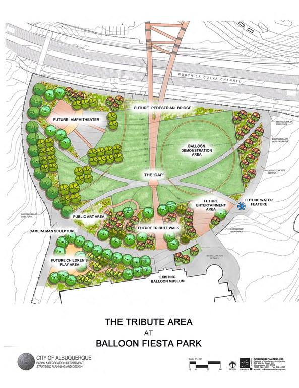 BFP Tribute Area Conceptual Site Plan