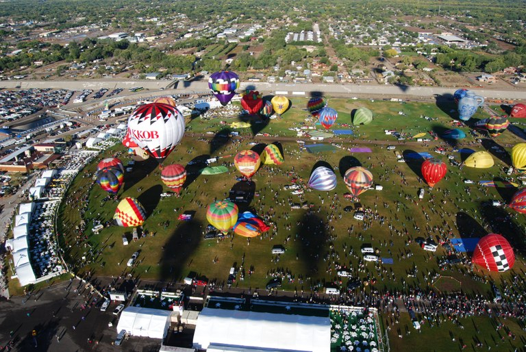 Balloon Fiesta Commission Photo