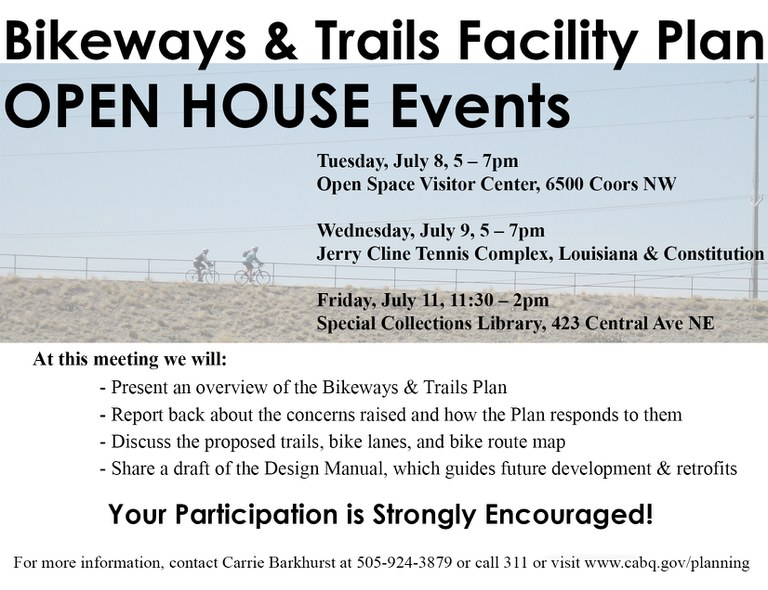 Bikeways and Trails Facility Plan