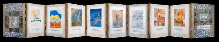 Book of Cranes open 2