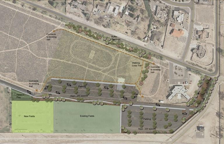 USS Bullhead Park Renovation Map
