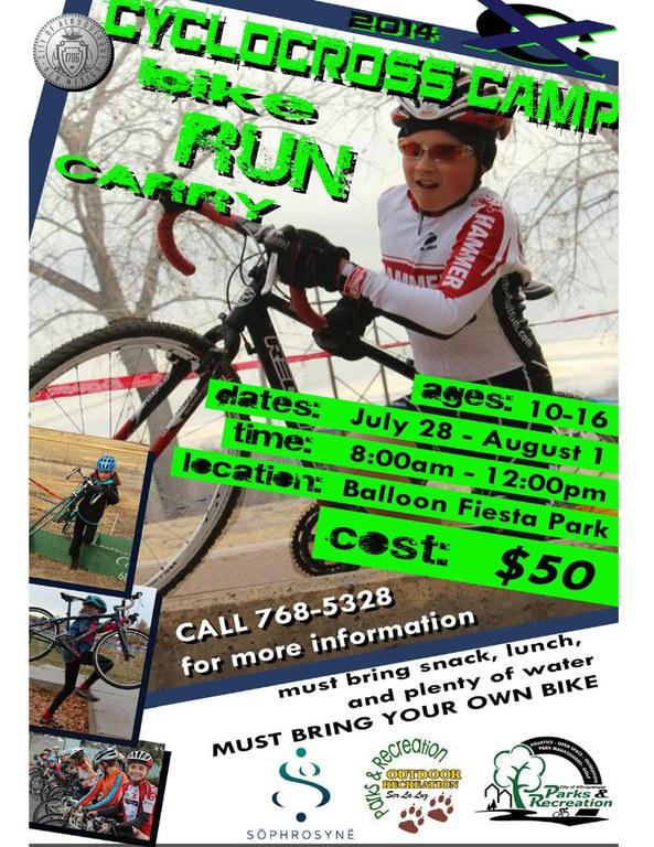 Cyclocross Camp 2014 Flier