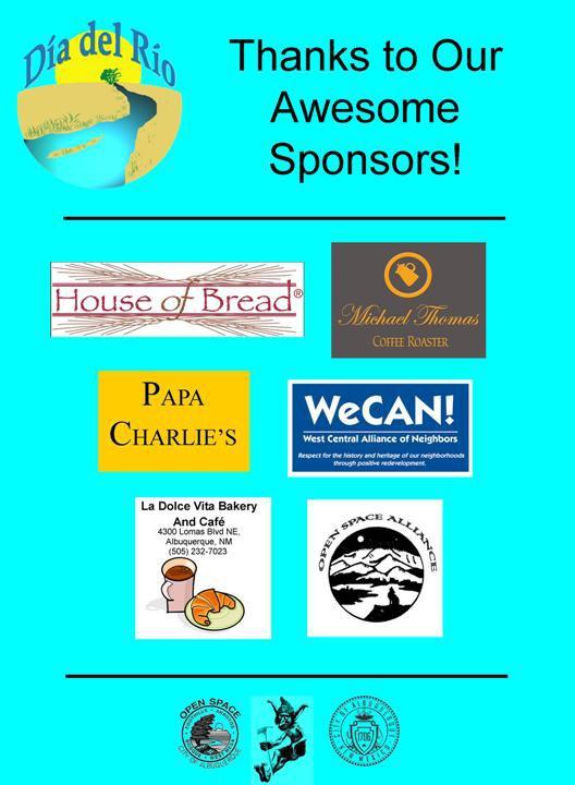 Dia del Rio sponsors
