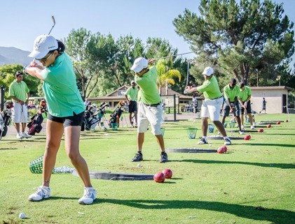 First Tee Golfer pics