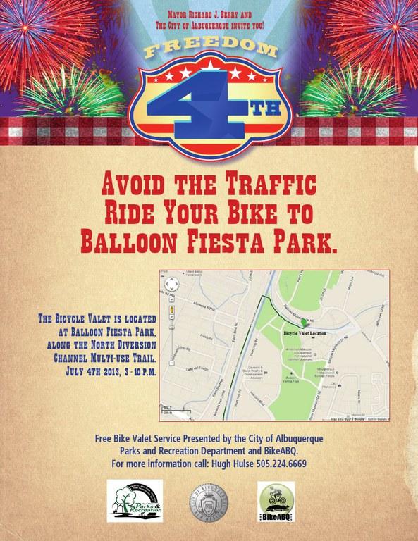 Bike Valet Freedom Fourth Flyer