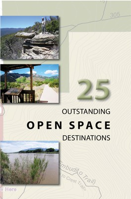 Cover of the 2nd edition for 25 Outstanding Open Space Destinations