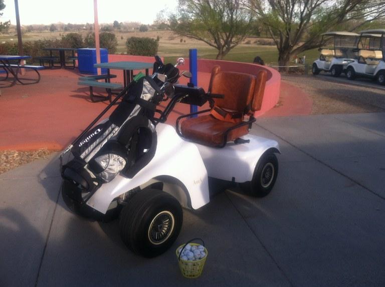 Golf Mobility Cart