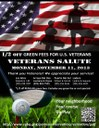 Veterans Day Golf Flyer 2013