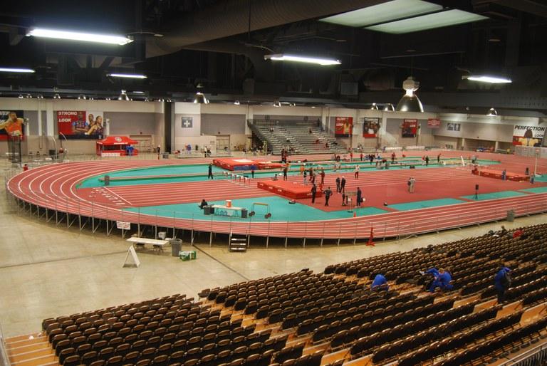Indoor Track Photo