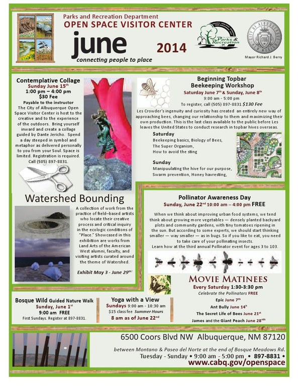 June 2014 OSVC Calendar of Events