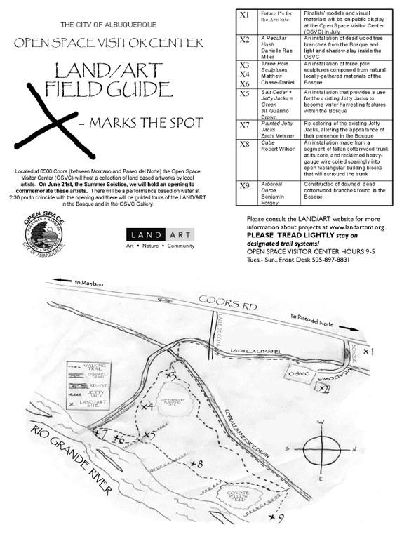 Land Art/ Field Guide